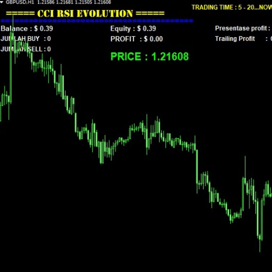 CCI RSI Evolution EA
